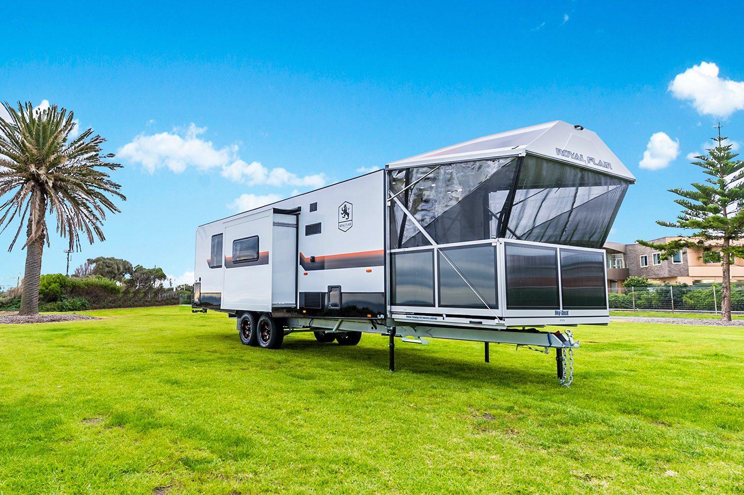 piazza family caravan