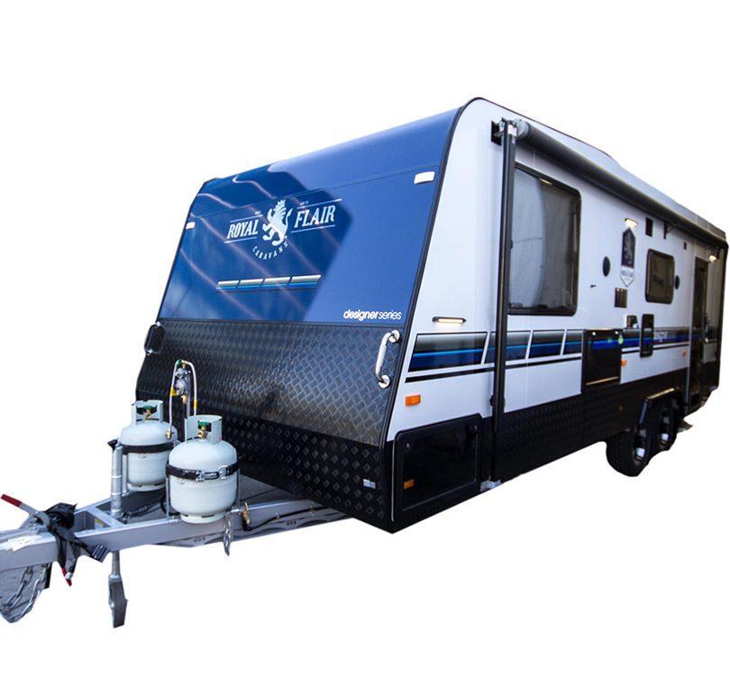 royal flair designer series caravan