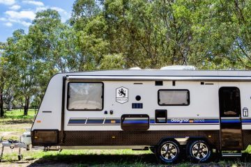 tips for towing a caravan