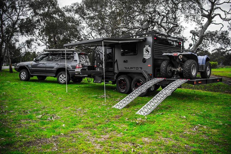 benefits of the raptor off road caravan
