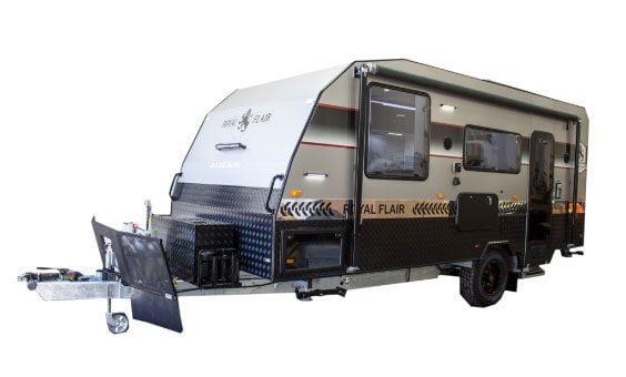 Family bunk caravan